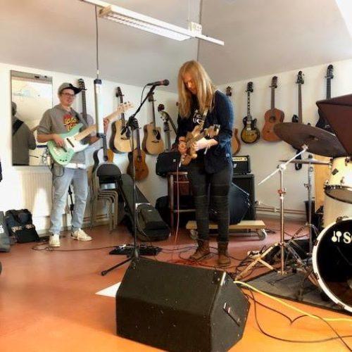 Besök från Piteå musikhögskola
