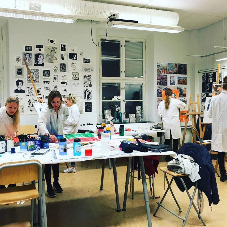 You are currently viewing Studiebesök från Östbergsskolan