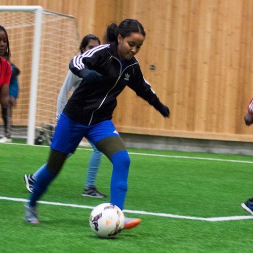 Fotbollscup i ÖP-hallen