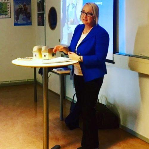 Eurostat besökte skolan