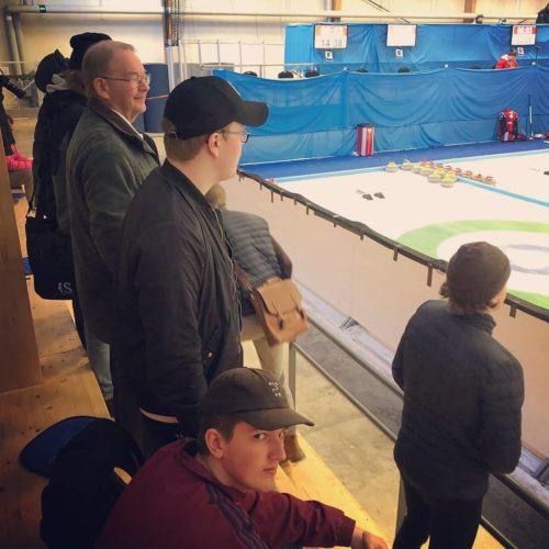 Utflykt till curlinghallen