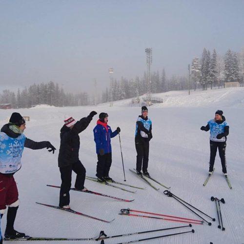 Ledare på snö