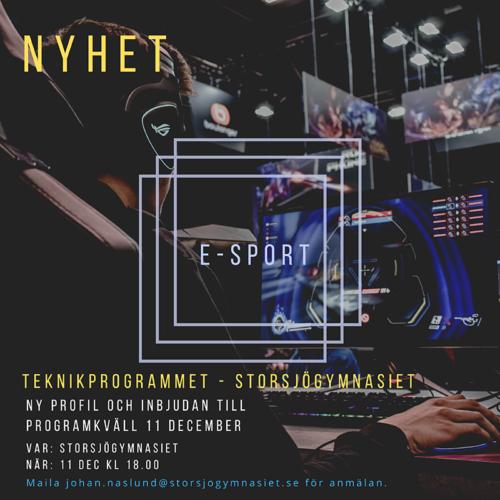 E-sportkväll