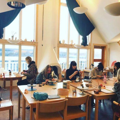Studiebesök Åredalens folkhögskola