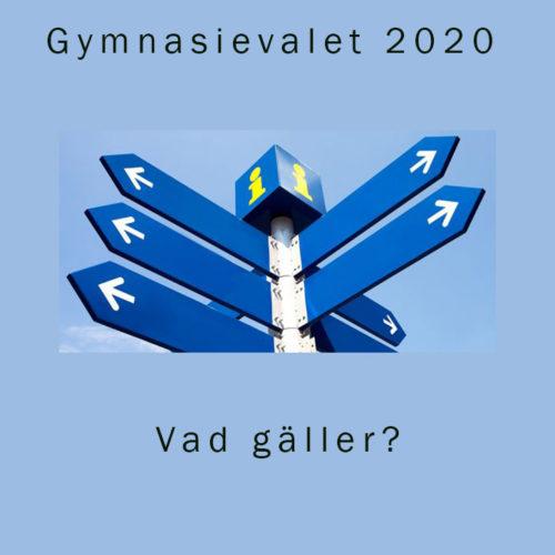 Gymnasievalet 2020