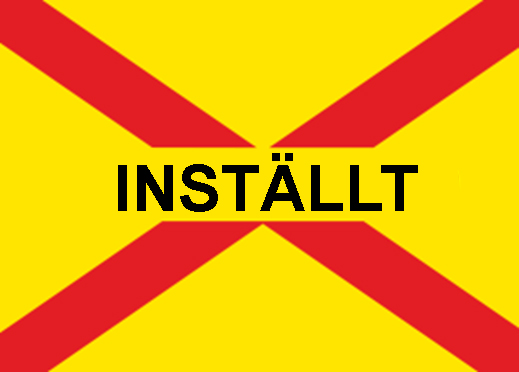 You are currently viewing Inställt!