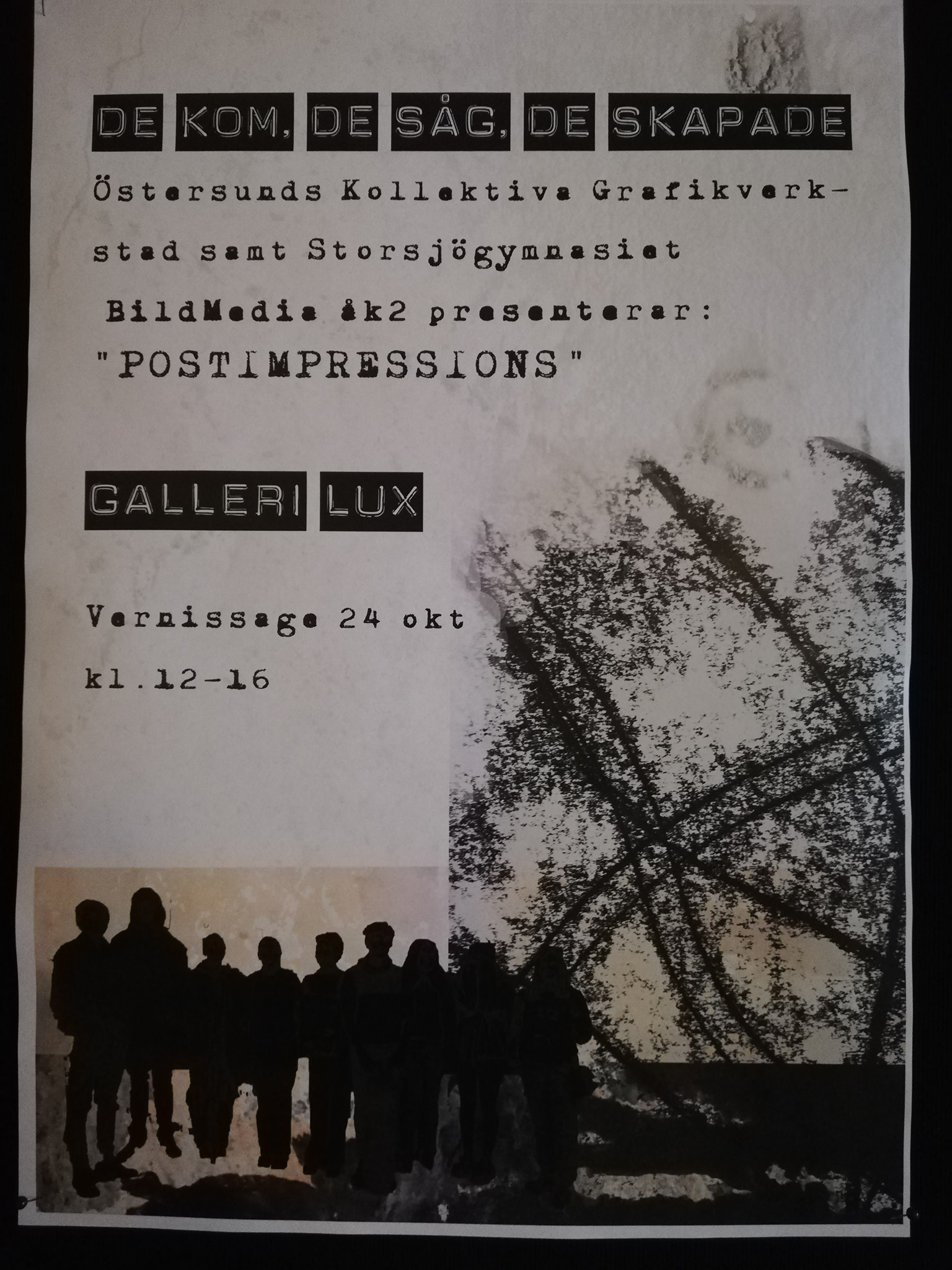 You are currently viewing Utställning Galleri Lux